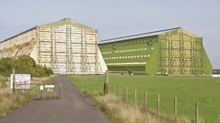 Cardington Studios, where Russell Bowry fell to his death. Picture: Google Street View