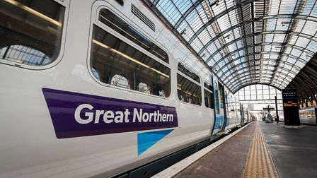 There has been a fire at the side of the Great Northern line. Picture: Great Northern