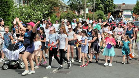 Dreams Theatre School at the 2018 Biggleswade Carnival parade. Picture: Andy Buckley