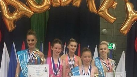 The Stotfold Twirlers enjoy their success of national competition ahead of international shows in Du