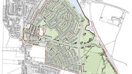 Central Bedfordshire Council have granted planning permission for 950 new homes in Chase Farm, Arles