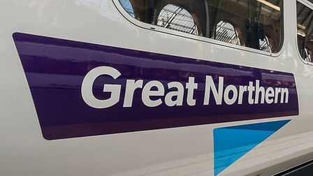 There is a speed restriction on the railways between Stevenage and London King's Cross this afternoo