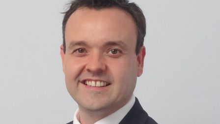 Stevenage MP Stephen McPartland has secured five extra train services for Stevenage. Picture: Stephe