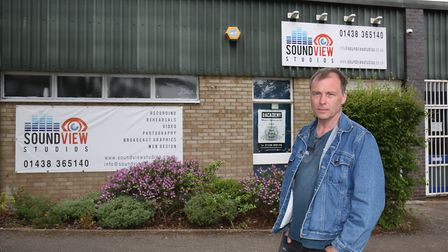 Carl Dawson's SoundView Studios in Stevenage were flooded with sewage and he is unhappy with Thames