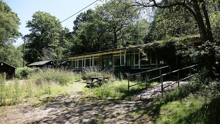 Cuffley Camp Outdoor Centre has been empty and unused for over a year now. Picture: Danny Loo