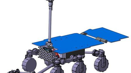 Drawing of the Mars Sample Fetch Rover. Picture: Airbus