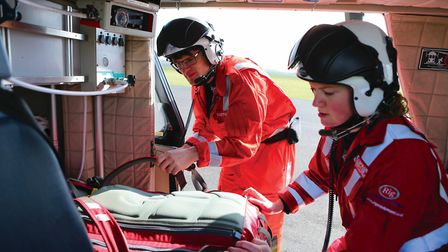 It costs more than £500,000 every month to keep the Essex and Herts Air Ambulance Trust running.