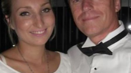 Charlotte Loader with her dad, Colin. Picture courtesy of the Teenage Cancer Trust.