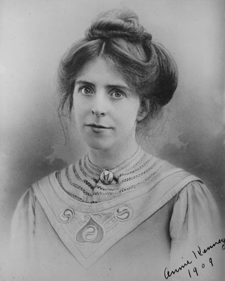 Annie Kenney was one of the Suffragettes featured in a talk by Diane Atkinson at the Wimpole History