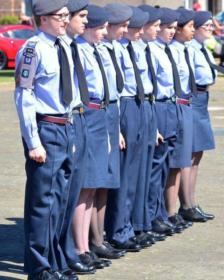 248 Letchworth ATC marched at Armed Forces Day in Letchworth. Picture: Alan Millard