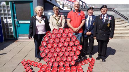 The Royal British Legion Stevenage Branch raised £1,310 at the Stevenage Armed Forces Day stall. Pic