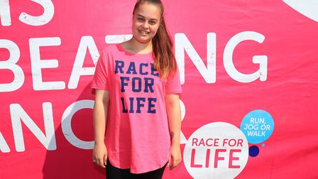 Participant Charlotte in the Stevenage Race for Life 2018. Picture: KEVIN RICHARDS