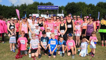 Participants in the Stevenage Race for Life 2018. Picture: KEVIN RICHARDS