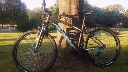 Police have released this picture of the bike that was stolen in Stevenage. Picture: Herts police