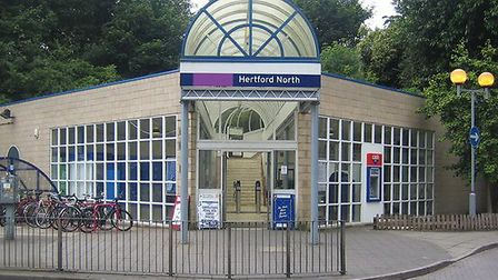 Hertford North railway station. Picture: Nigel Cox/CC BY-SA 2.0