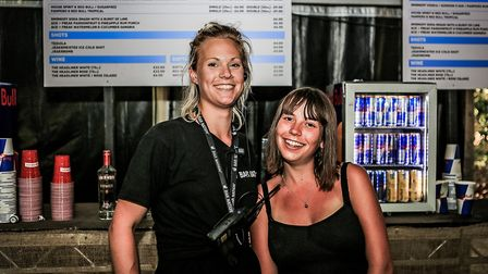 Awesome bar staff at Farr Festival 2018. Picture: KEVIN RICHARDS