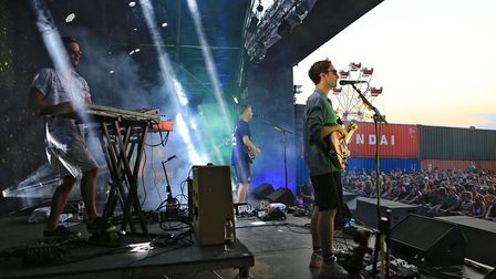 Tom Misch and band at Farr Festival 2018. Picture: KEVIN RICHARDS