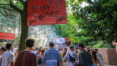 Deeper into the woods of rThe Ma Dahu's stage at Farr Festival 2018. Picture: KEVIN RICHARDS