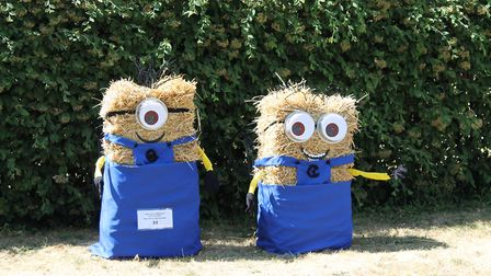 Even the minions made an appearance at Holwell Scarecrow Festival. Picture: Nigel Eaton