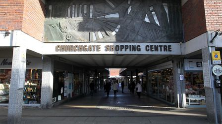 Churchgate Shopping Centre in Hitchin. Picture: Harry Hubbard