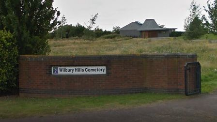 North Herts District Council hope to build a new crematorium next to the Wilbury Hills Cemetery. Pic