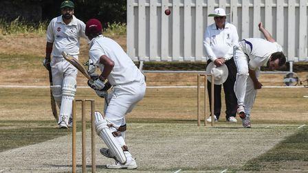 Action from Saffron Walden 2nd XI's latest match (pic Jamie Pluck)