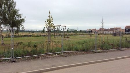 Central Bedfordshire Council say they are working on having the play area open as soon as possible.