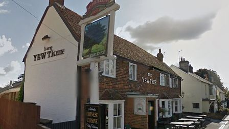 The Yew Tree pub in Walkern. Picture: Google Street View.