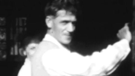 The only know footage of Ernest 'Billy' Lincoln. Picture: Edward Street