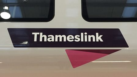 A Thameslink train's doors closed and trapped an elderly lady's arm and torso this morning. Picture:
