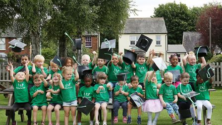 The Strathmore Pre-school leavers graduation held at The Angels Pub, Hitchin. Picture: WILL DURSTON