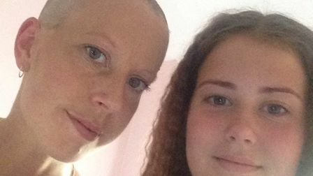 Kimberley Jeeves, with her daughter Bethany Andrea. Picture: Kimberley Jeeves