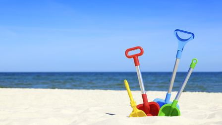 Toys at the beach. Picture: Scanpix, Scandlines / CC BY 3.0