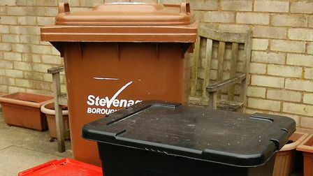 Stevenage Borough Council have announced bin collections will be an hour earlier than usual. Picture