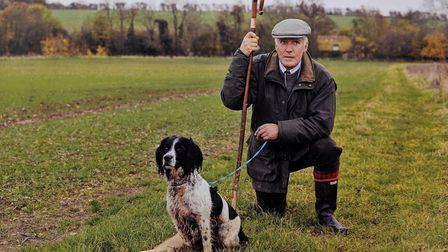 Farmer, soldier, vicar and friend to many, Teddy Faure Walker has died aged 71. Picture: Courtesy of