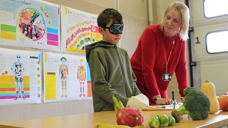 Disadvantaged children will learn about healthy eating as part of the Fit, Fed and Read programme. P