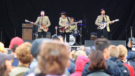The Bootleg Beatles at Standon Calling Festival 2018. Picture: KEVIN RICHARDS
