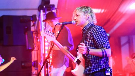 The Hunna play BBC Introducing at Standon Calling Festival 2018. Picture: KEVIN RICHARDS