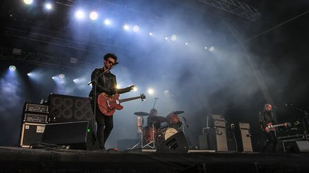 Main Stage with a performance by Black Rebel Motorcycle Club at Standon Calling Festival 2018. Pictu