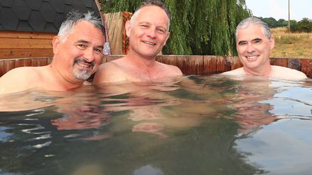 Hot tubs a plenty at Standon Calling Festival 2018. Picture: KEVIN RICHARDS
