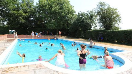 No Groove Garden around the pool this year at Standon Calling Festival 2018. Picture: KEVIN RICHARDS