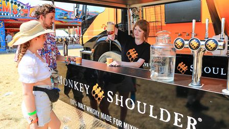 Whisky on offer at Standon Calling Festival 2018. Picture: KEVIN RICHARDS