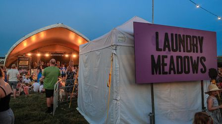 The ever popular Laundry Meadows stage at Standon Calling Festival 2018. Picture: KEVIN RICHARDS
