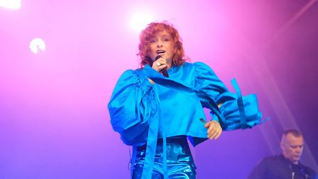 Goldfrapp on the Main Stage at Standon Calling Festival 2018. Picture: KEVIN RICHARDS