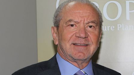 Lord Sugar. Picture: Danny Loo