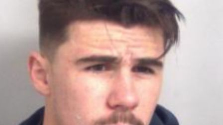 Jack Mitchell is wanted in connection with a collision that left a police officer with a broken leg.