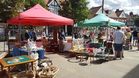 Visitors came out to enjoy the first Letchworth Vintage Festival over the weekend. Picture: Love Let
