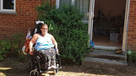 Michelle Sheppard has asked Howard Cottage Housing Association to put a ramp in for her, to no avail