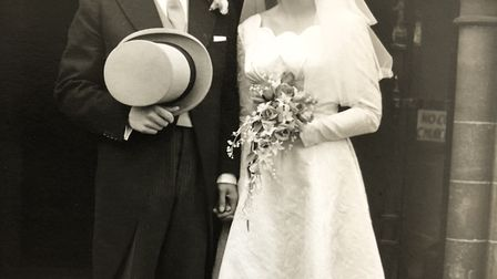 Gilbert and Juliet got married on August 5, 1958. Picture: Courtesy of Vanessa Atha