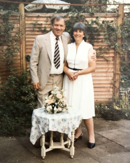 Gilbert and Juliet have lived happily together in Letchworth throughout their 60 year marriage. Pict